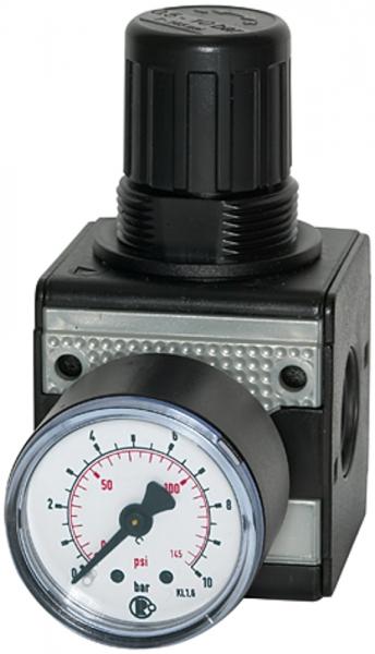 Präzisionsdruckregler »multifix«, BG 1, G 1/4, 0,5 - 10 bar
