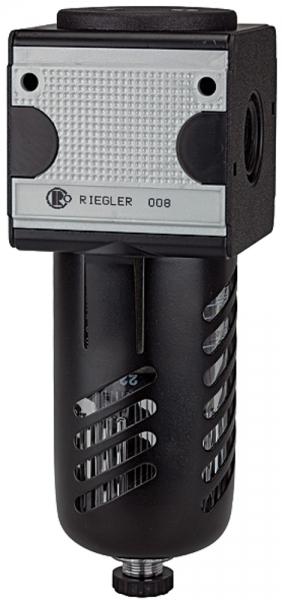 Vorfilter »multifix« PC-Behälter, Schutzkorb, 0,3 µm, BG 1, G 1/4