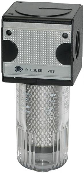 Aktivkohlefilter »multifix«, mit PC-Behälter, BG 3, G 1/2