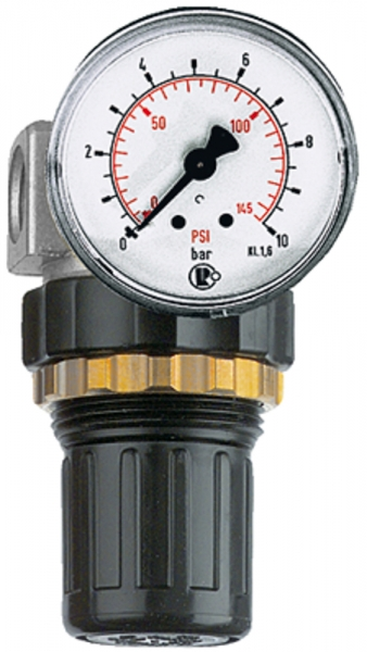 Druckregler »Standard-mini«, Schalttafelmutter, G 1/4, 0,2-6 bar