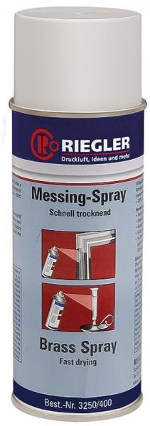 RIEGLER Messing-Spray, Temperatur max. 300 °C, 400 ml