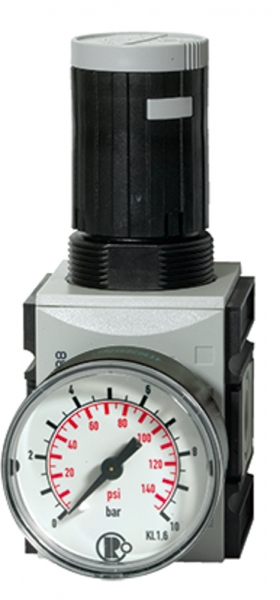 Präzisionsdruckregler »FUTURA«, mit Mano, BG 2, G 1/2, 0,1-2 bar