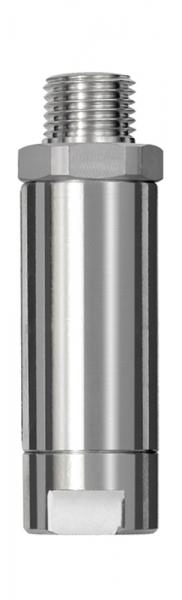 Inline-Druckregler, IG/AG, mit Sekundärentlüftung, G 1/4, 7 bar
