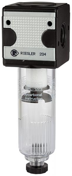 Filter »multifix« mit Polycarbonatbehälter, 5 µm, BG 3, G 1/2, HA