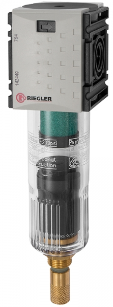 Mikrofilter »FUTURA-mini« mit PC-Behälter, BG 0, G 1/4, VA-NC