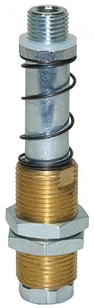 Federstössel, Saugeranschluss G 1/4 AG, Federweg 25,0 mm