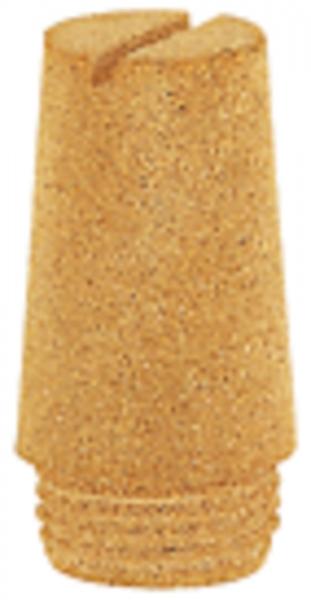 Sinterbronce-Schalldämpfer, Schlitz, G 1, 0 - 8 bar