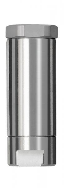 Inline-Druckregler, 2 x IG, mit Sekundärentlüftung, G 1/4, 2 bar