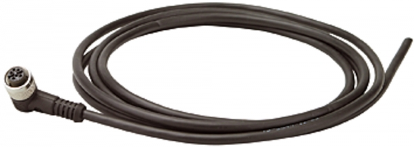 Spannungsversorgungskabel 2 m, 5x0,25 mm², M12-Winkelleitungsdose