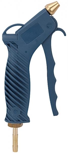 Blaspistole mit Kurzdüse, Kunststoff, PN max. 10 bar, Tülle LW 6