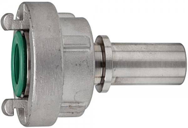 Storz-Kupplung, Stutzen, Schaleneinband, MS, Größe 25-D, LW 25