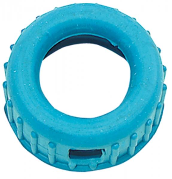 Manometer-Schutzkappe aus Gummi, blau, für Mano-Ø 63 mm