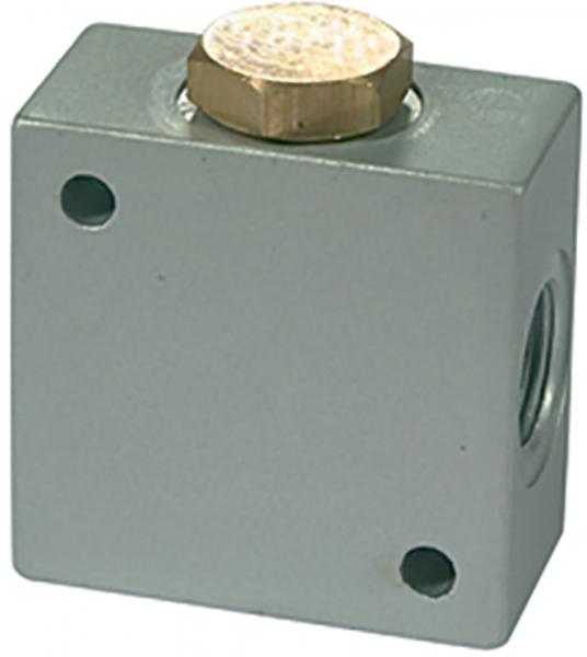 T-Verteiler, G 3/8 Aluminium, SW 25
