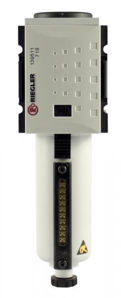Mikrofilter »FUTURA«, Metallbehälter, Sichtrohr, BG 1, G 1/4, VA