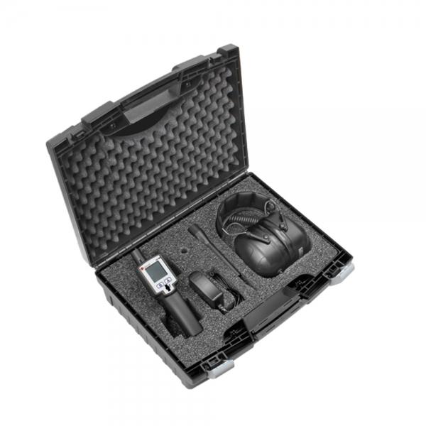 Leckagesuchgerät inkl. Zubehör im praktischen Koffer-Set, 0-40°C