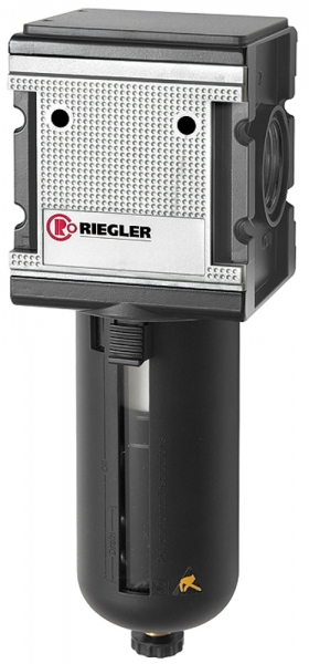 Filter »multifix«, PC-Behälter, Schutzkorb, 5 µm, BG 4, G 1, HA