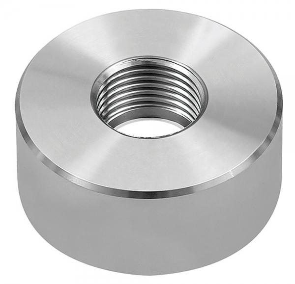 Einschweißstutzen, für Druckmessumformer, G 1/2, Edelstahl 1.4571