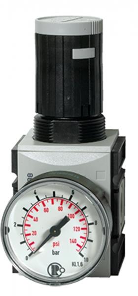 Präzisionsdruckregler »FUTURA«, mit Mano, BG 1, G 1/4, 0,5-8 bar