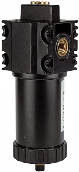 Aktivkohlefilter ohne Differenzdruckmanometer, 0,005 mg/m³, G 1/2