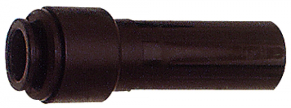 Reduzierstück POM, Stutzen 6 mm, für Schlauch-Außen-Ø 4