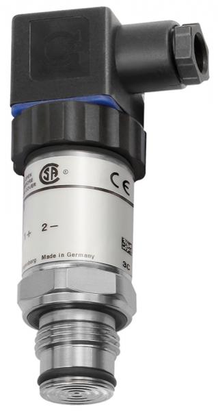 Elektr. Druckmessumf., 0-10,0 bar, G 1/2, CrNi-Stahl 1.4571, 0,2%