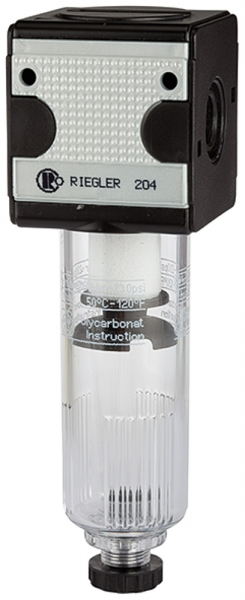 Filter »multifix« mit Polycarbonatbehälter, 5 µm, BG 3, G 3/4, HA