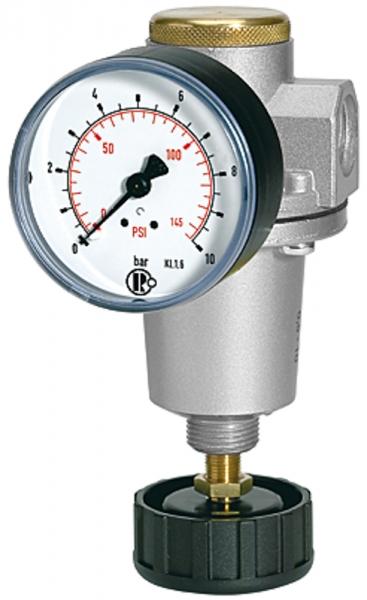 Druckregler »Standard«, inkl. Manometer, BG 2, G 1/2, 0,2 - 6 bar