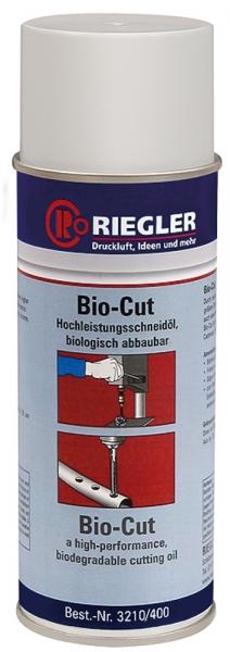 RIEGLER Bio-Cut, Hochleistungsschneidöl, 400 ml
