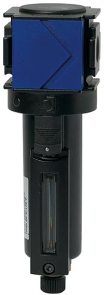 Mikrofilter »variobloc«, Metallbehälter, Sichtrohr, BG 2, G 3/4
