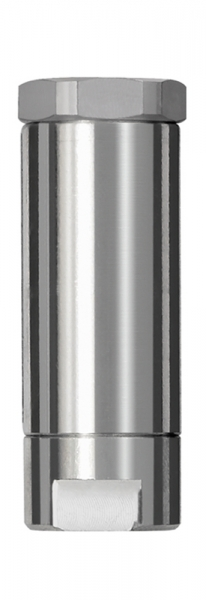Inline-Druckregler, 2 x IG, mit Sekundärentlüftung, G 1/4, 3 bar