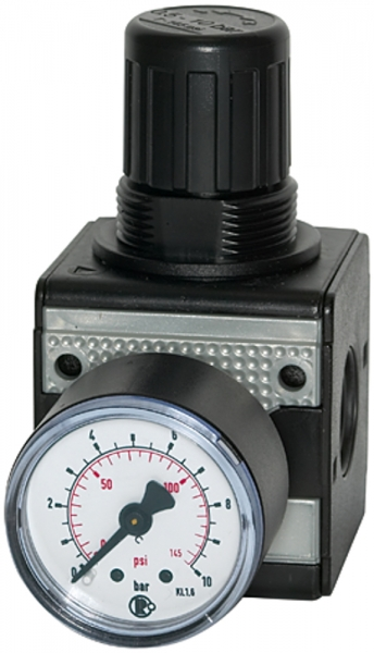 Präzisionsdruckregler »multifix«, BG 1, G 1/4, 0,2 - 6 bar