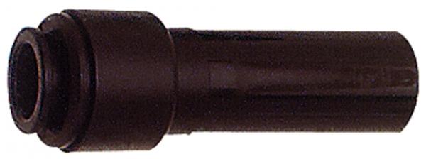 Reduzierstück POM, Stutzen 15 mm, für Schlauch-Außen-Ø 10