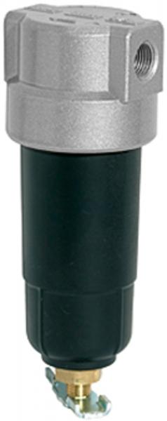Filter »Standard-mini«, mit Metallbehälter, 8 µm, BG 0, G 1/4