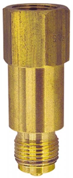 Zwischenstück für Messgerätehalter, G 1/2, aus Messing