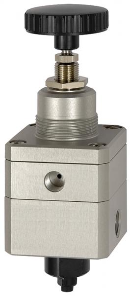 Präzisionsdruckregler ohne Mano, G 1/4, Regelbereich 0,05 - 8 bar