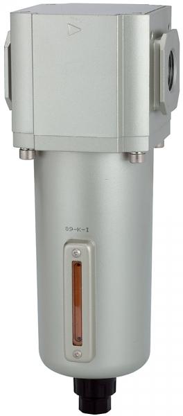 Filter »G« mit Metallbehälter, 5 µm, BG 600, G 3/4, Ablass: VA