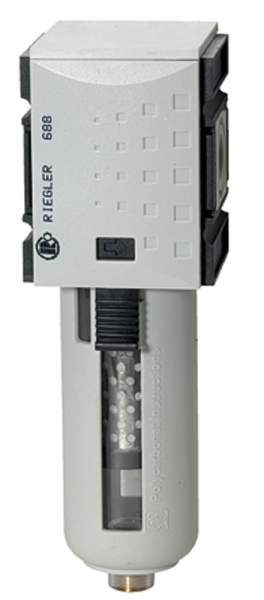 Aktivkohlefilter »FUTURA«, PC-Behälter u. Schutzkorb, BG 4, G 1