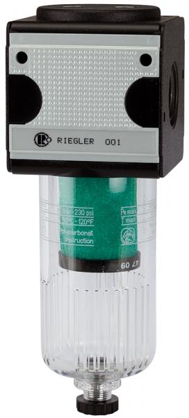 Mikrofilter »multifix«, mit PC-Behälter, 0,01 µm, BG 1, G 1/4
