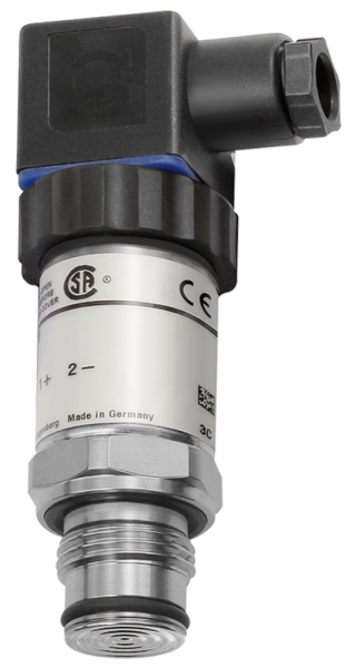 Elektr. Druckmessumf., 0-25,0 bar, G 1/2, CrNi-Stahl 1.4571, 0,2%