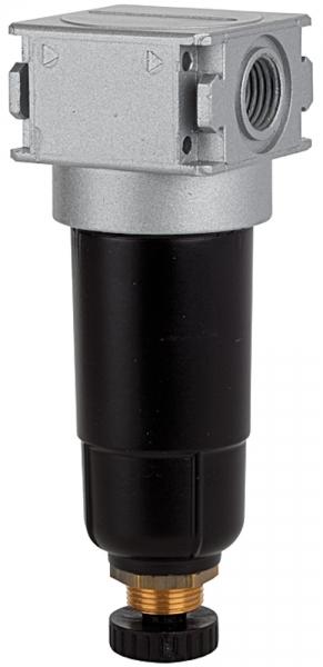 Vorfilter »multifix-mini« mit Metallbehälter, 0,3 µm, BG 0, G 1/8