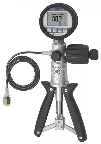Kalibrier-Test- und Servicegerät, Messbereich -0,95/40 bar, G 1/4