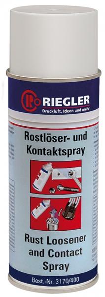RIEGLER Rostlöser-und Kontaktspray, 400 ml