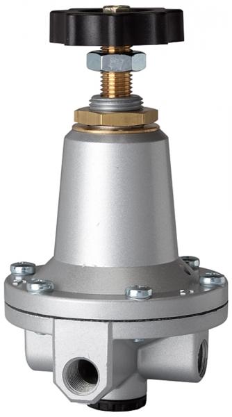 Präzisionsdruckregler ohne Eigenluftverbrauch, G 1/4, 0,5-10 bar