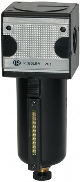 Filter »multifix«, Metallbeh. u. Sichtrohr, 5 µm, BG 3, G 3/4, HA