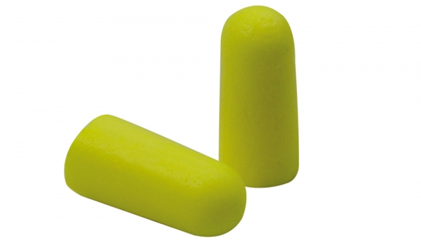 Gehörschutzstöpsel, Spenderbox 250 Paar, Polyurethan-Schaumstoff