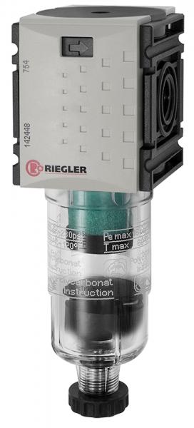 Mikrofilter »FUTURA-mini« mit PC-Behälter, BG 0, G 1/4, HA