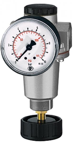 Druckregler »Standard«, inkl. Manometer, BG 1, G 1/4, 0,5-10 bar