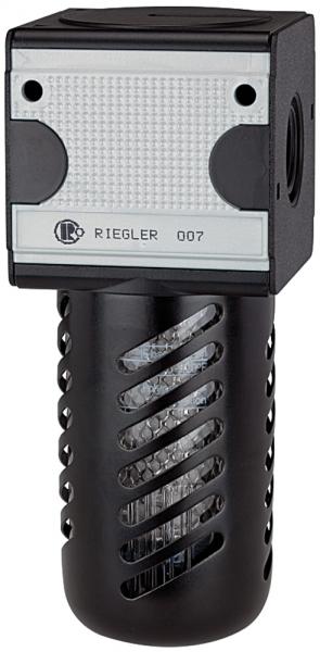 Aktivkohlefilter »multifix«, PC-Behälter, Schutzkorb, BG 3, G 1/2