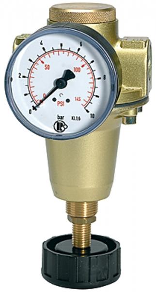 Konstant-Druckregler inkl. Manometer, BG 2, G 3/8, 0,5 - 3 bar