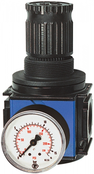 Druckregler, durchg. Druckvers. »variobloc«, BG 2, G 1/2, 0,5-10